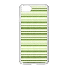Spring Stripes Apple Iphone 7 Seamless Case (white) by designworld65