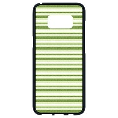 Spring Stripes Samsung Galaxy S8 Black Seamless Case by designworld65