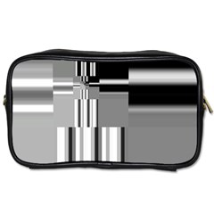Black And White Endless Window Toiletries Bags 2 Side by designworld65