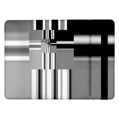 Black And White Endless Window Samsung Galaxy Tab Pro 12 2  Flip Case by designworld65