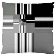 Black And White Endless Window Standard Flano Cushion Case (one Side) by designworld65