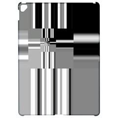 Black And White Endless Window Apple Ipad Pro 12 9   Hardshell Case by designworld65