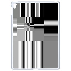 Black And White Endless Window Apple Ipad Pro 9 7   White Seamless Case by designworld65