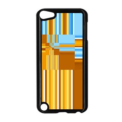 Endless Window Blue Gold Apple Ipod Touch 5 Case (black) by designworld65