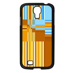 Endless Window Blue Gold Samsung Galaxy S4 I9500/ I9505 Case (black) by designworld65