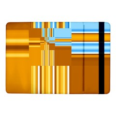 Endless Window Blue Gold Samsung Galaxy Tab Pro 10 1  Flip Case by designworld65