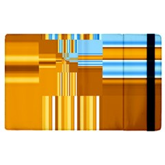 Endless Window Blue Gold Apple Ipad Pro 12 9   Flip Case by designworld65