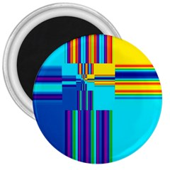Colorful Endless Window 3  Magnets by designworld65