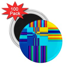 Colorful Endless Window 2 25  Magnets (100 Pack)