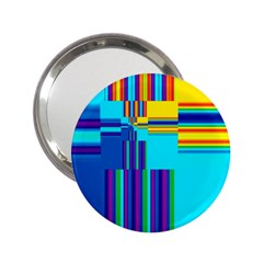 Colorful Endless Window 2 25  Handbag Mirrors