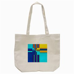 Colorful Endless Window Tote Bag (cream) by designworld65
