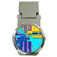 Colorful Endless Window Money Clip Watches