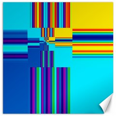 Colorful Endless Window Canvas 20  X 20   by designworld65