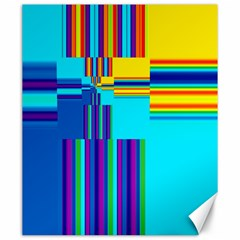 Colorful Endless Window Canvas 20  X 24   by designworld65