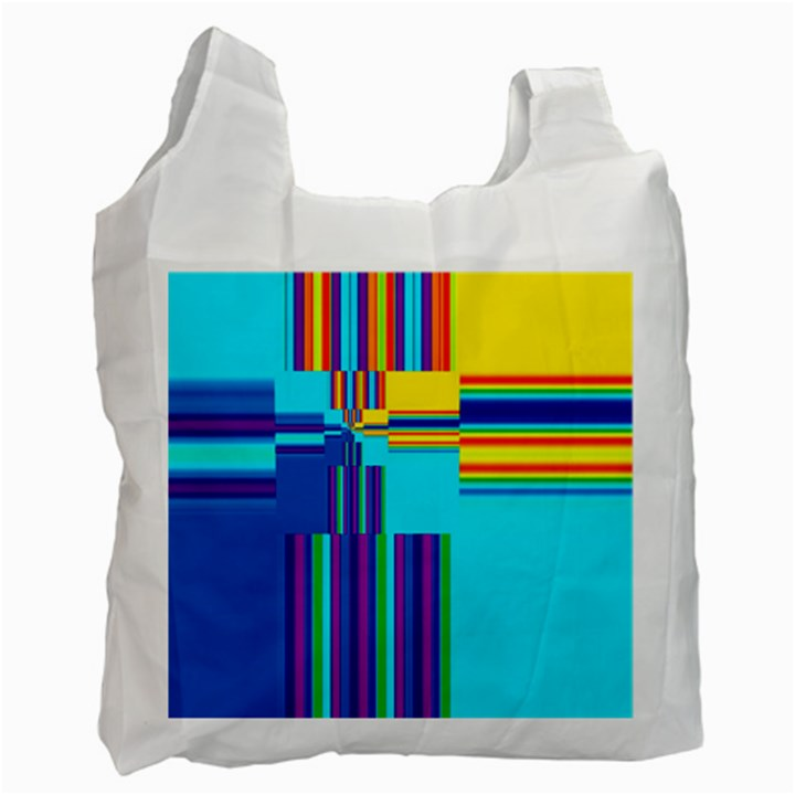Colorful Endless Window Recycle Bag (One Side)