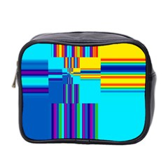 Colorful Endless Window Mini Toiletries Bag 2 Side by designworld65