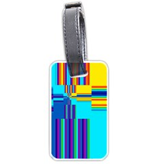 Colorful Endless Window Luggage Tags (one Side)  by designworld65