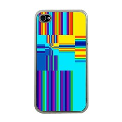 Colorful Endless Window Apple Iphone 4 Case (clear) by designworld65