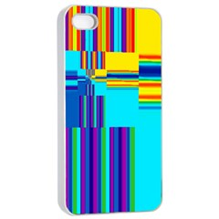 Colorful Endless Window Apple Iphone 4/4s Seamless Case (white) by designworld65