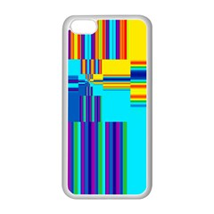 Colorful Endless Window Apple Iphone 5c Seamless Case (white) by designworld65