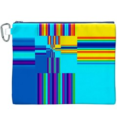 Colorful Endless Window Canvas Cosmetic Bag (xxxl) by designworld65