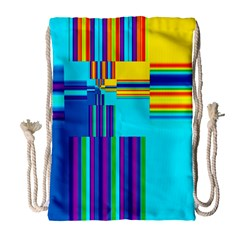 Colorful Endless Window Drawstring Bag (large) by designworld65