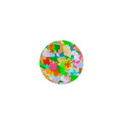 Colorful Summer Splash 1  Mini Buttons by designworld65