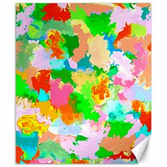 Colorful Summer Splash Canvas 8  X 10  by designworld65