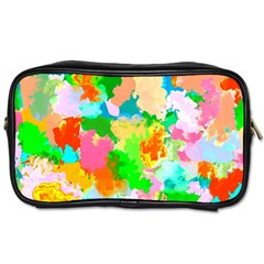 Colorful Summer Splash Toiletries Bags by designworld65