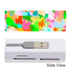 Colorful Summer Splash Memory Card Reader (stick)  by designworld65