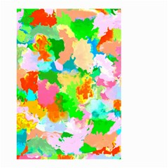 Colorful Summer Splash Small Garden Flag (two Sides) by designworld65