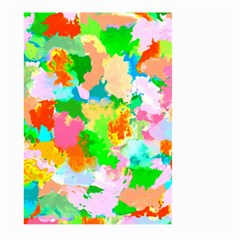 Colorful Summer Splash Large Garden Flag (two Sides) by designworld65