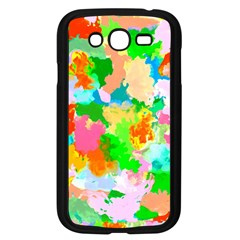 Colorful Summer Splash Samsung Galaxy Grand Duos I9082 Case (black) by designworld65