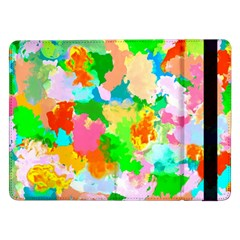 Colorful Summer Splash Samsung Galaxy Tab Pro 12 2  Flip Case by designworld65