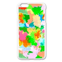 Colorful Summer Splash Apple Iphone 6 Plus/6s Plus Enamel White Case by designworld65