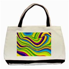 Summer Wave Colors Basic Tote Bag by designworld65