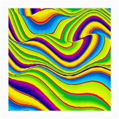 Summer Wave Colors Medium Glasses Cloth (2 Side) by designworld65