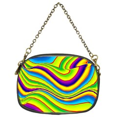 Summer Wave Colors Chain Purses (one Side)  by designworld65