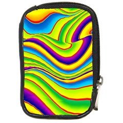 Summer Wave Colors Compact Camera Cases by designworld65