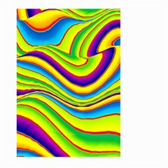 Summer Wave Colors Large Garden Flag (two Sides) by designworld65