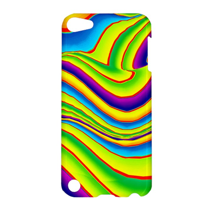 Summer Wave Colors Apple iPod Touch 5 Hardshell Case