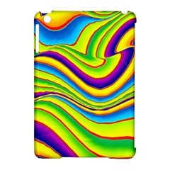 Summer Wave Colors Apple Ipad Mini Hardshell Case (compatible With Smart Cover) by designworld65
