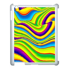 Summer Wave Colors Apple Ipad 3/4 Case (white) by designworld65