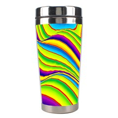Summer Wave Colors Stainless Steel Travel Tumblers by designworld65