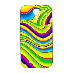 Summer Wave Colors Samsung Galaxy S4 I9500/i9505  Hardshell Back Case by designworld65