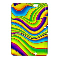 Summer Wave Colors Kindle Fire Hdx 8 9  Hardshell Case by designworld65