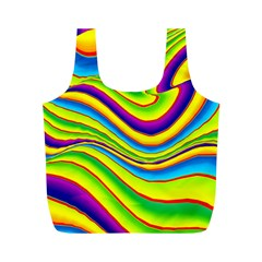 Summer Wave Colors Full Print Recycle Bags (m)  by designworld65