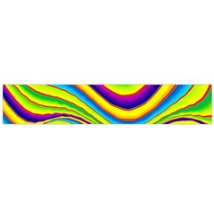 Summer Wave Colors Flano Scarf (large) by designworld65