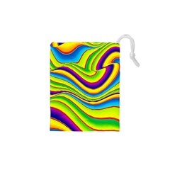 Summer Wave Colors Drawstring Pouches (xs)  by designworld65