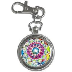Sunshine Feeling Mandala Key Chain Watches by designworld65